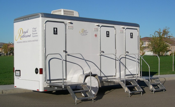 Portable Potty Rentals, Royal Restrooms