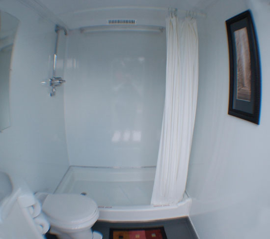 Porta Potty With Shower
